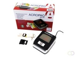 Acropaq AT110 grijs zwarte Valsgeld detector