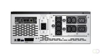 APC Smart-UPS X 2200VA Line-Interactive 2200VA 10AC outlet(s) Rackmontage/toren Zwart UPS