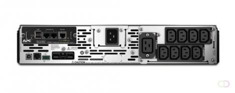APC Smart-UPS X 2200VA Line-Interactive 2200VA 9AC-uitgang(en) Rackmontage/toren Zwart UPS