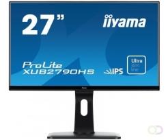 "Beeldscherm iiyama ProLite XUB2790HS-B1 27"" Zwart Full HD PC-flat panel"