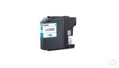 BROTHER LC22EC inkt cyaan hoge capaciteit 2400 p. voor MFCJ5920DW