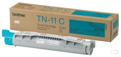 BROTHER TN-11 tonercartridge cyaan standard capacity 6.000 paginas 1-pack