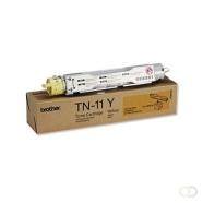 BROTHER TN-11 tonercartridge geel standard capacity 6.000 paginas 1-pack