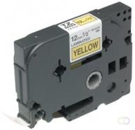 Brother TX-631 Zwart op geel labelprinter-tape