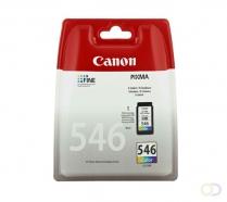 CANON CL-546 inktcartridge kleur standard capacity 8ml 180 paginas 1-pack blister met alarm