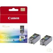 CANON CLI-36 inktcartridge kleur 2-pack blister met alarm