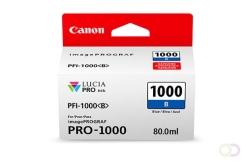 CANON PFI-1000 blauwe inkttank