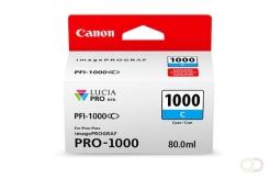 CANON PFI-1000 cyan inkttank