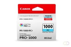 CANON PFI-1000 foto cyan inkttank
