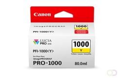CANON PFI-1000 gele inkttank