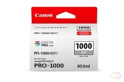 CANON PFI-1000 grijze inkttank