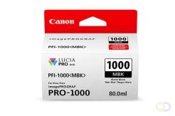 CANON PFI-1000 mat zwarte inkttank