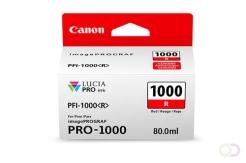 CANON PFI-1000 rode inkttank