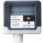 CANON PFI-301BK inktcartridge pigment zwart standard capacity 330ml 1-pack