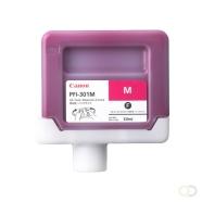 CANON PFI-301M inktcartridge pigment magenta standard capacity 330ml 1-pack