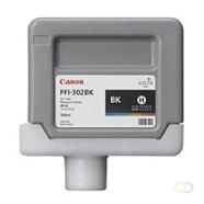 CANON PFI-302BK inktcartridge zwart standard capacity 330ml 1-pack