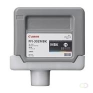 CANON PFI-302MBK inktcartridge matzwart standard capacity 330ml 1-pack