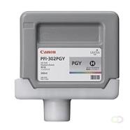 CANON PFI-302PGY inktcartridge foto grijs standard capacity 330ml 1-pack