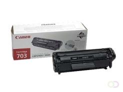 CANON PFI-703BK inktcartridge zwart standard capacity 2.000 pagina's 3-pack