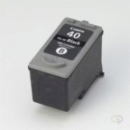 CANON PG-40 inktcartridge zwart standard capacity 1-pack blister met alarm