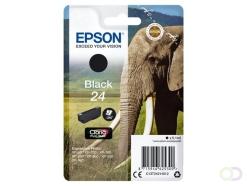 Epson Elephant Singlepack Black 24 Claria Photo HD Ink