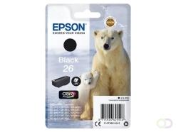 Epson Polar bear Singlepack Black 26 Claria Premium Ink