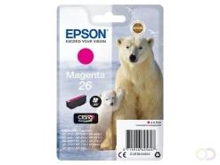 Epson Polar bear Singlepack Magenta 26 Claria Premium Ink