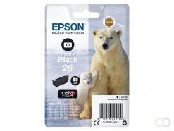 Epson Polar bear Singlepack Photo Black 26 Claria Premium Ink
