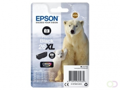 Epson Polar bear Singlepack Photo Black 26XL Claria Premium Ink