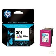 HP 301 originele ink cartridge drie kleuren standard capacity 3ml