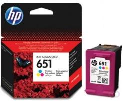 HP 651 Inkt Cartridge Drie-kleuren