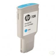 HP 728 300-ml Cyan Inkt Cartridge