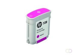 HP 728 40-ml Magenta Inkt Cartridge