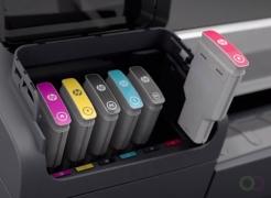 HP 745 Inkt Cartridge Geel 300 ml