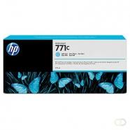 HP 771C originele ink cartridge licht cyaan standard capacity 775ml 1-pack