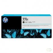 HP 771C originele ink cartridge matzwart standard capacity 775ml 1-pack