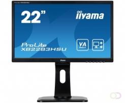 """Iiyama prolite xb2283hsu-b1dp va 21.5"""" zwart full hd led display"""