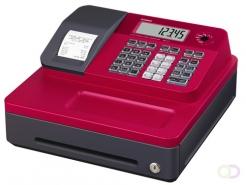 Kassa Casio SE-G1, rood, standaard geldlade (5 munten, 3 biljetten), thermische printer
