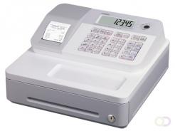 Kassa Casio SE-G1, wit, standaard geldlade (5 munten, 3 biljetten), thermische printer
