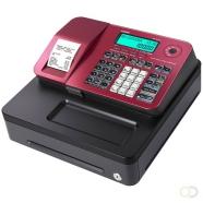 Kassa Casio SE-S100, Rood, kleine lade, thermische printer