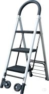 Ladder en steekwagen combinatie Pavo