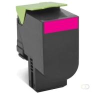 LEXMARK 802SME tonercartridge magenta standard capacity 2.000 pagina's 1-pack corporate