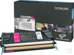 LEXMARK C524 tonercartridge magenta high yield 5.000 pagina's 1-pack