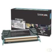 LEXMARK C746,C748 tonercartridge zwart standard capacity 12.000 pagina's Corp. cartr.
