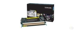 LEXMARK C748 10K tonercartridge geel high capacity 10.000 pagina's 1-pack