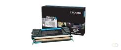 LEXMARK C748 tonercartridge cyaan high capacity 10.000 pagina's 1-pack