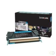 LEXMARK C748 tonercartridge cyaan standard capacity 10.000 pagina's 1-pack Corp.cartr.