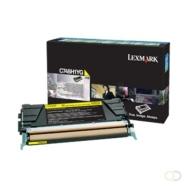 LEXMARK C748 tonercartridge geel standard capacity 10.000 pagina's Corp.cartr.