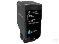 Lexmark CX725 Origineel Cyaan 1 stuk(s)