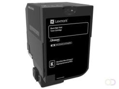 Lexmark CX725 Origineel Zwart 1 stuk(s)